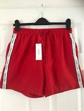 Men's Calvin Klein Swim Shorts Size Medium Red