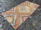 Turkish rug, Vintage rug, Handmade rug, Area rug, Wool, Carpet   2,9 x 5,7 ft