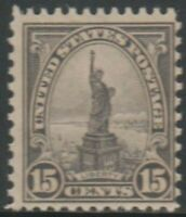 Scott# 696 - 1931 Rotary Series - 15 cents Statue of Liberty
