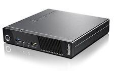 Lenovo ThinkCentre M73 i3 4130 2,9GHz 8GB 128GB SSD Win7Pro Tiny USFF