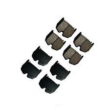 Disc Brake Pad Set-Euro Ultra Premium Ceramic Pads Front Akebono EUR983