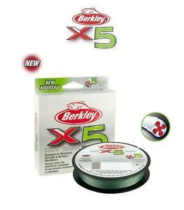 Berkley X5 Braid Low Vis Green 150m/300m**All Sizes**Pike Perch Trout Game Lure