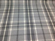 Porter+Stone Tartan Plaid Check BALMORAL Wool Effect Upholstery/Curtain Fabric