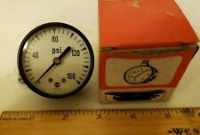 Vintage Usg Us Gauge Psi Gauge With Box Steampunk