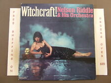 NELSON RIDDLE WITCHCRAFT LP HALLOWEEN CHEESECAKE COVER PC-3007