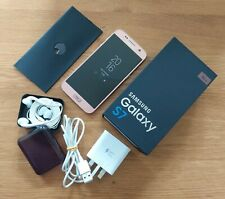 Mobile Samsung Galaxy S7 32GB - Pink Gold (Unlocked) boxed in VGC
