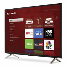 Real TCL 40-Inch Full HD 1080p 120Hz Roku Smart LED TV/3x HDMI