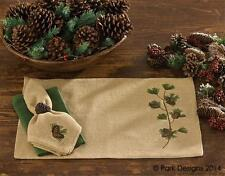 Burlap & Pine Christmas Placemat