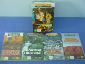 Ted Egan's This Land Australia 4 DVD Set Rainforest Central Snowy R0 Track
