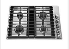 """KitchenAid KCGD500GSS 30"""" Gas Cooktop Stainless Steel with 4 Burners"""
