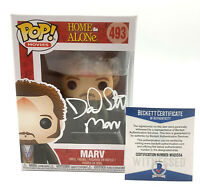 DANIEL STERN SIGNED AUTOGRAPH HOME ALONE FUNKO POP MARV BECKETT BAS 41