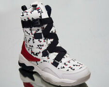 Fila Ray Neve Boot Women's White Casual Lifestyle Shoes Sneakers 1010766-1FG