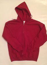 BNWT Gildan Men's Hoodie Jacket XL new Red