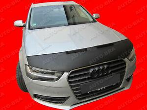 Car Hood Bra fits Audi A4 B8 2011 - 2015 Bonnet Mask Auto-Bra TUNING