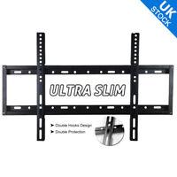 Ultra LED LCD TV Wall Bracket Mount Slim Flat 32 34 37 40 42 47 50 55 60 inch