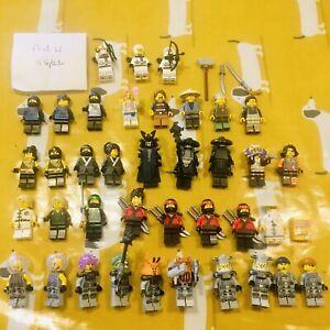 Large bundle / Job Lot of Lego Ninjago minifigs and accessories