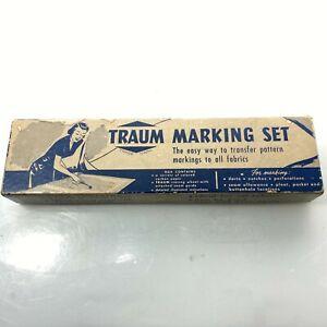 "TRAUM Vintage 1/2"" 5/8"" Seam Allowance Tracing Wheel Made in Japan"