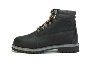"TIMBERLAND Junior's 6"" Premium 640 Below Boots A1VFD (M) BLACK (msrp: $110)"