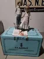 VINTAGE ORIGINAL LLADRO ONE, TWO, THREE PORCELAIN FIGURINE #5426 MINT WITH BOX