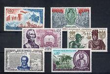 France 6 timbres non oblitérés gomme**  21  Figures historiques