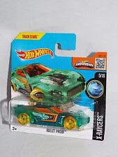 Hot Wheels 2016 X-Raycers Series #15 Bullet Proof Clear Green On Short Card