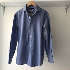 Tommy Hilfiger Mens Regular Fit Check Long Sleeve 100% Cotton Shirt, Size XS