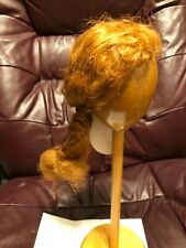 Vintage Global Dolls Wig ZOBE Size 11-12 Carrot Red Braid NOS