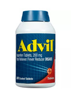 Advil Ibuprofen Tablets 200 mg - 300 Coated Tablets - Exp. 11/2018