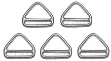 Anneau Triangulaire Barrette 5mm ( Lot de 5 ) inox A4 - 316 Triangle
