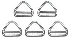 Anneau Triangulaire Barrette 5mm ( Lot de 5 ) inox A4 - 316 Triangle