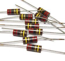 10x Allen Bradley Widerstand, 22 Ohm / 2W für Röhrenverstärker, NOS