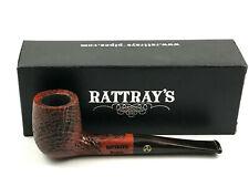 Rattray's Brownie Billiard Pfeife pipe pipa - 9mm Filter sandgestrahlt