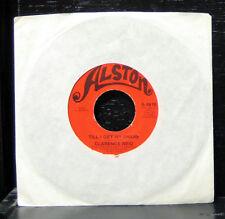 "Clarence Reid - Till I Get My Share VG+ 7"" Vinyl 45 Record 1973 Alston A-4616"