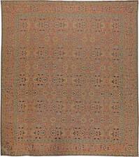 Oversized Antique Persian Tabriz Rug BB5596