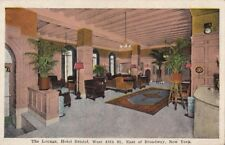 Postcard The Lounge Hotel Bristol New York City NY