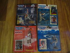 Starting Lineup Line up 8   Figures w Cards Nba & mlb ALL SEALED