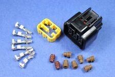 6pins Female Sealed Waterproof Connector Socket Plug 1kit Scooter ECU CDI