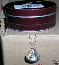 HERSHEY'S KISSES SILVER 18 INCH NECKLACE W/TIN kiss hershey
