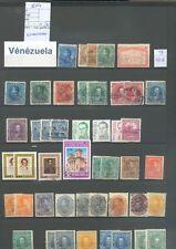LOT 515  COLLECTION TIMBRES VENEZUELA BONNE COTE