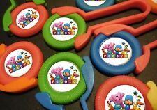 12 POCOYO disk shooters birthday party favor, treat, awards, prizes, teachers