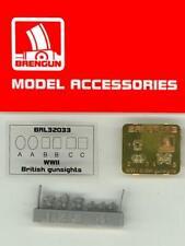 Brengun Models 1/32 BRITISH WWII REFLECTOR GUNSIGHT Resin & Photo Etch Set