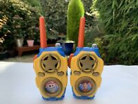 Disney Pixar Toy Story 4 Walkie Talkie Lights and Real Sounds Effects Xmas Gift