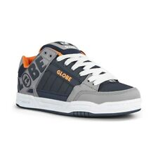 Globe Tilt Skate Shoes - Grey / Navy / Orange