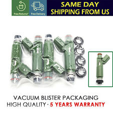 New 4X Fuel Injectors Set  Fits For Toyota Chevy Prizm Corolla 1.8L 23250-22040