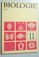 Biologie Klasse 11,Teil 2 , DDR Lehrbuch, Volk und Wissen 1972,Abitur DDR