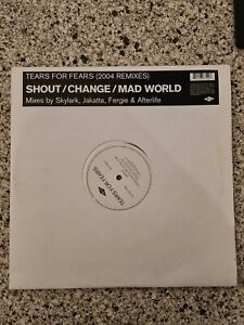 Tears For Fears – Shout / Change / Mad World (2004 Remixes) DOUBLE VINYL PROMO