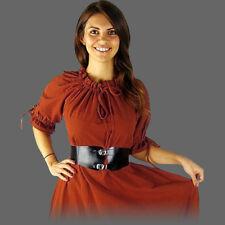 Mittelalterkleid kurzärmelig 5 Farben 7 Größen kurzarm Mittelalter Sommer Kleid
