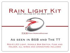 T.N.R ACU Rain Light Kit. Motorcycle Racing Wet Race Light. LED. BSB. TT