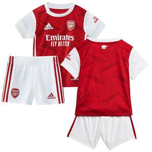 Infant & Baby Arsenal Home Baby Kit 2020-21 Football Soccer Sport Set - Adidas