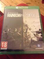 Tom Clancy's Rainbow Six Siege (Microsoft Xbox One, 2015) - Brand New & Sealed